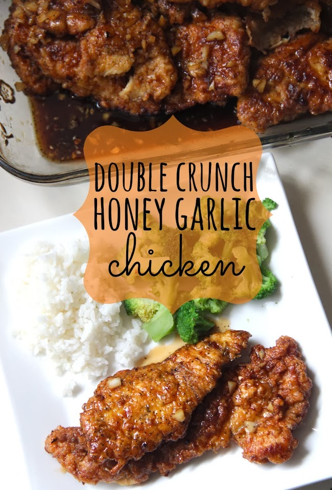 Double Crunch Honey Garlic Chicken Food And The City