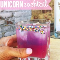 This Unicorn Cocktail Is Perfect For Girl's Night In